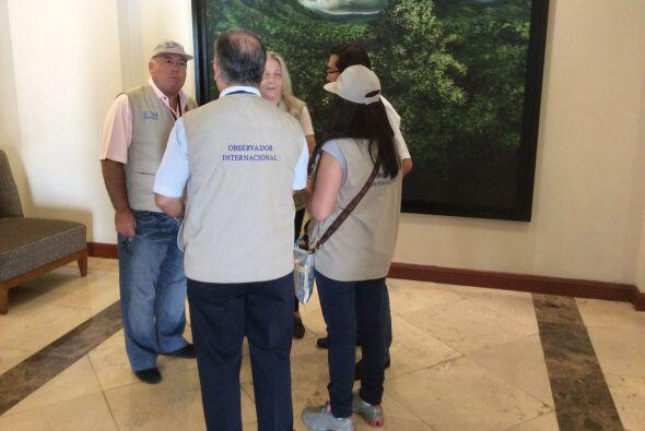 Los votantes del país centroamericano ya dieron inicio a la jornada elec...