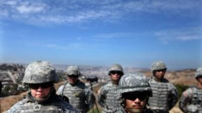 Ochenta y dos soldados de la Guardia Nacional llegaron a la frontera con...