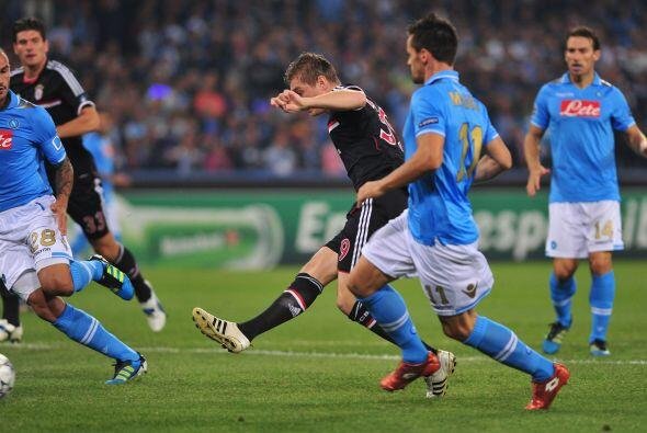 Toni Kroos abrió el marcador al minuto de juego, silenciando a los itali...