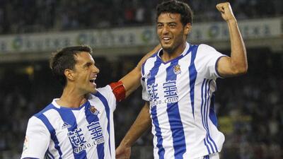 Carlos Vela envió emotivo mensaje para despedir a su ex capitán de la Real Sociedad