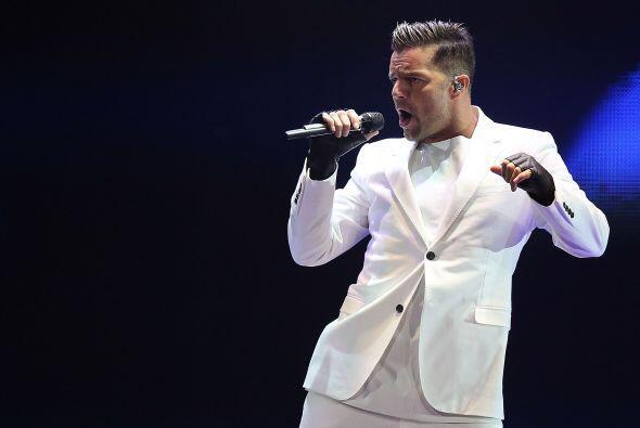 Ricky Martin es uno de los latinos con más influencia en las redes socia...