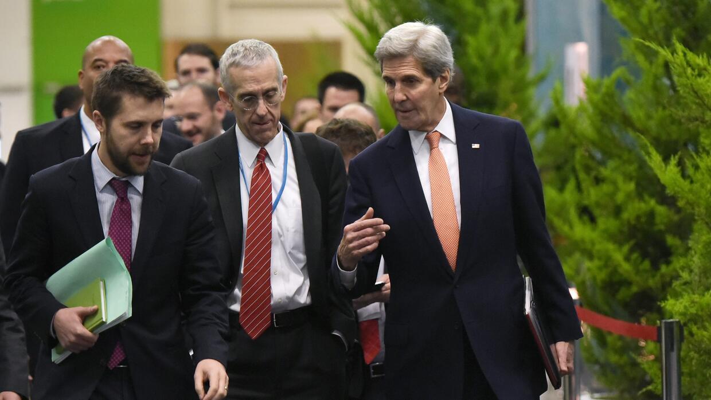 La delegación de EEUU en París.