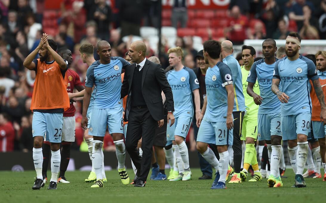 Sexto empate en el duelo Pep-Mourinho, que gana ampliamente el español G...