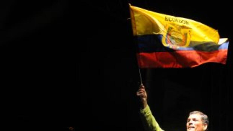 Rafael Correa ha gobernado Ecuador desde el 2007.