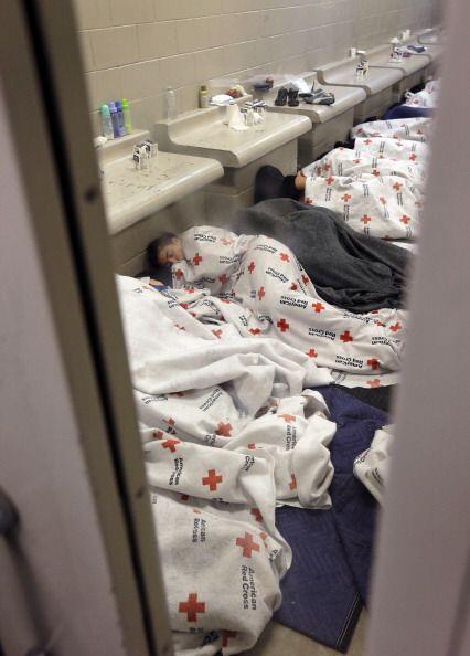 Se ha denunciado que los menores viven en difíciles condiciones en los c...