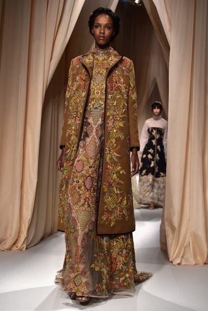 Valentino presentó su nueva colección primavera-verano 2015.