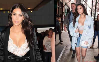 El verano transparente de Kim Kardashian