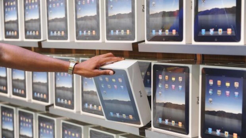 La venta de las tabletas ha comenzado a bajar.