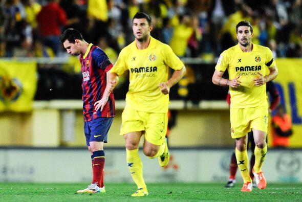 Pero el primer golpe lo dio el Villarreal justo antes del descanso. Cani...