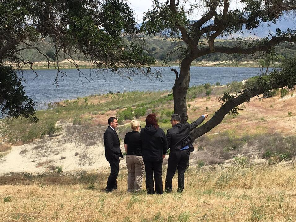 Agentes del orden buscaron al niño Aramazd Andressian Jr en el La...