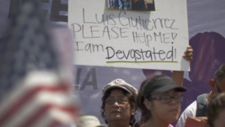 No cesan las movilizaciones que buscan un freno a las deportaciones y, s...