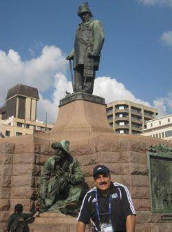 Una foto histórica para el recuerdo de la República Deportiva.