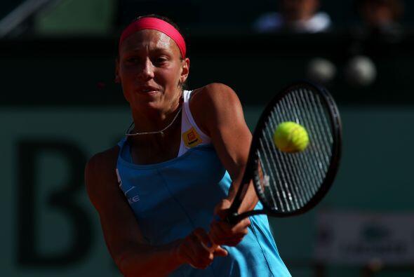 La belga Yanina Wickmayer sucumbió en dos sets de 6-4, 6-4.
