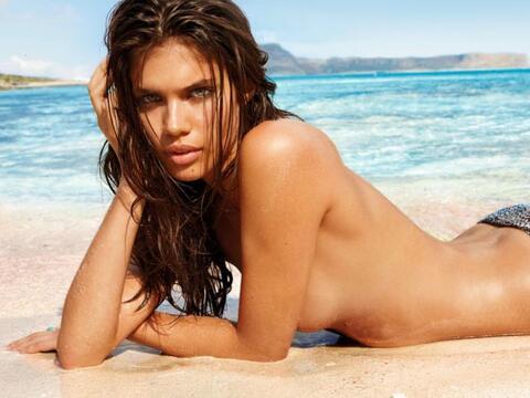 La bella portuguesa es una de las modelos más cotizadas del mundo...