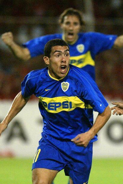 El argentino Carlos Tévez tiene un talento impresionante en las p...