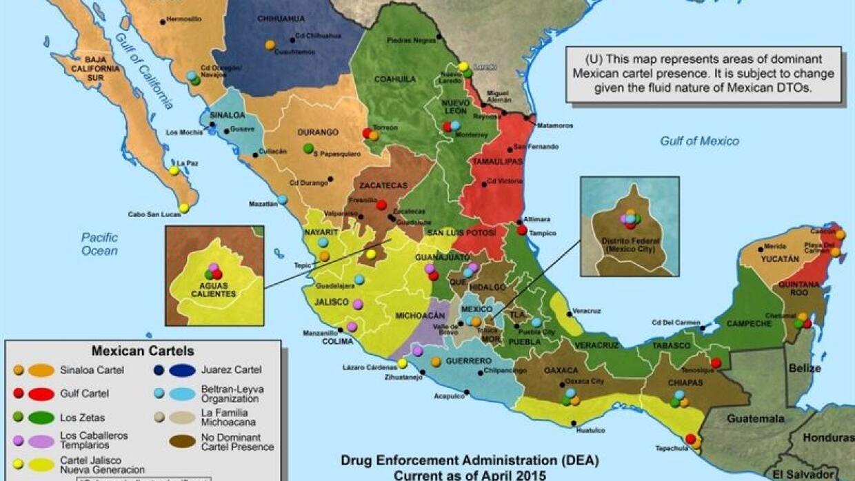 Carteles de droga en México