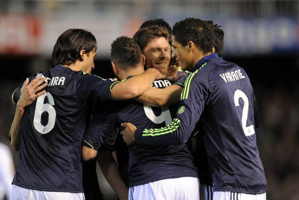 Tras la anotación del '9' merengue, el Madrid volvió a mos...