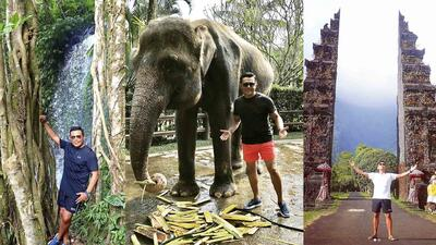 En video, Raúl Brindis nos da un recorrido por Bali, Indonesia
