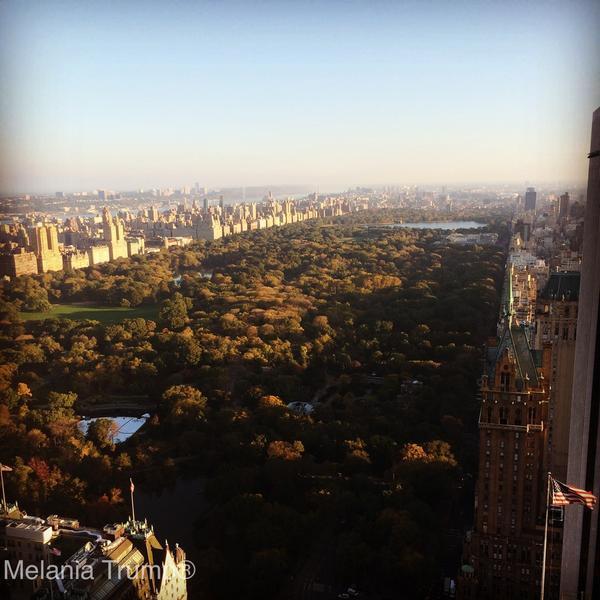 Melania hizo 74 veces la misma foto desde su ventana en 3 años: esas y o...