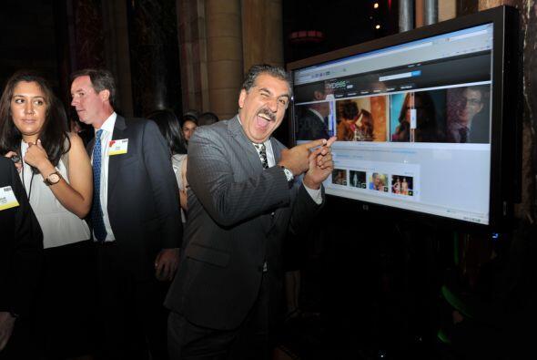 Los presentadores de Univision compartieron con actores, actrices, ejecu...