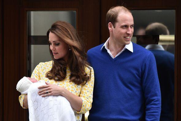 Sin embargo, en esta ocasión no hablaron, como cuando nació George.