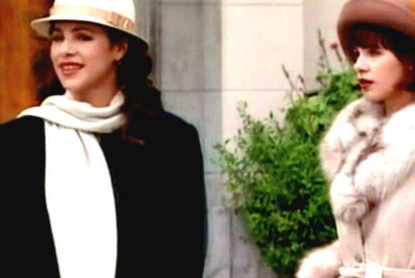 Al principio de su carrera la vimos en papeles antagónicos. Fue la villa...
