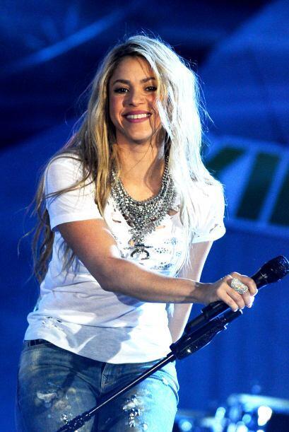 Y ese día su atuendo fue el peor, ¿qué habrá pensado Shakira?
