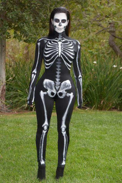 A la Kardashian le encanta disfrazarse en Halloween.
