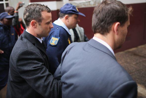 El juicio al deportista sudafricano está siendo televisado, no obstante,...