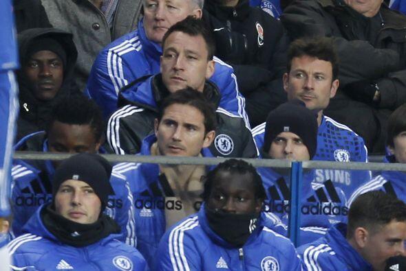 Se notó la ausencia de jugadores como John Terry y Frank Lampard, quiene...