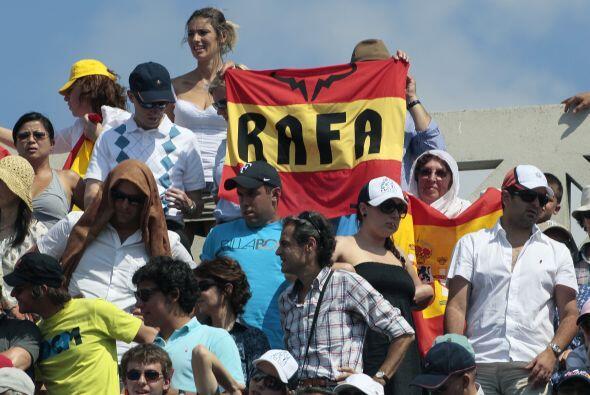 ¡El apoyo al español fue evidente!