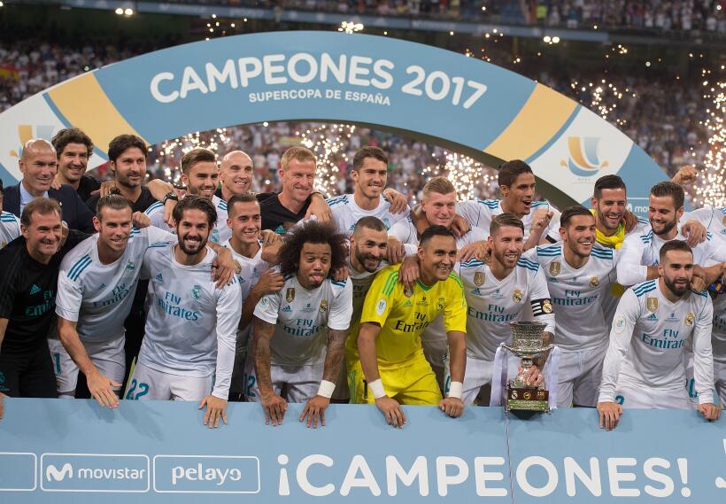 Con Zidane, el Real Madrid ha ganado 7 títulos: 2 locales y 5 internacio...