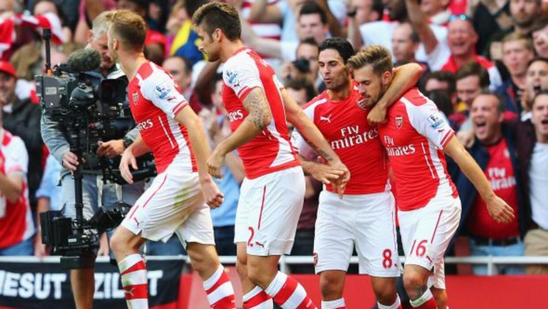 Los Gunners arrancaron la Premier League con una apretada victoria en casa.