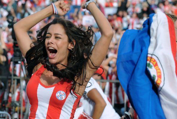 Desafortunadamente Paraguay no calificó a Río de Janeiro 2014.  Mira aqu...