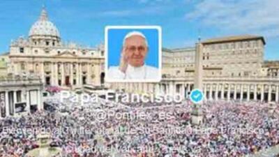 El Twitter del Papa Francisco
