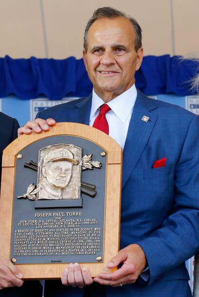 Joe Torre consiguió 10 títulos de división, seis banderines de la Liga A...
