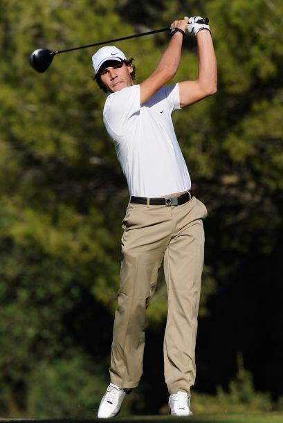 ¿Te imaginas a Rafa Nadal fuera del tenis y jugando golf profesionalmente?