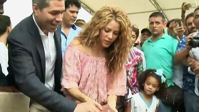 Shakira es engañada en su país natal: los problemas que enfrenta para construir su escuela en Colombia