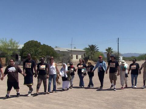 Participantes de 'La Caravana contra el Miedo' culpan a la Patrulla Fron...