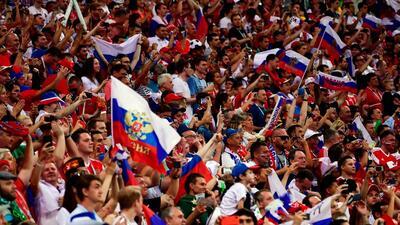 En fotos: La ilusión rusa y Sochi se despidieron del Mundial