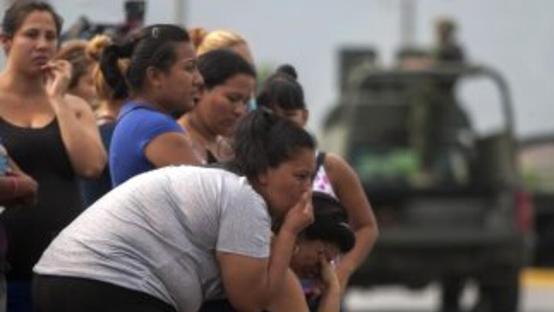 Residentes de Nuevo León impresionados ante la oleada violenta.