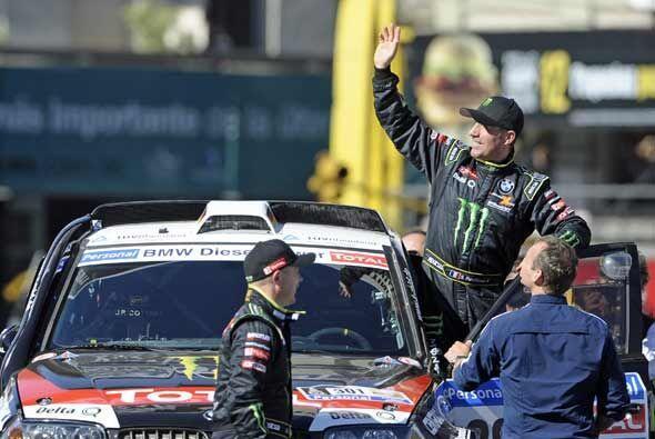 El francés Stephane Peterhansel correrá el Rally Dakar 2011 con su BMW X...