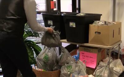 Residentes en Raleigh donan recursos básicos para la población en Venezuela
