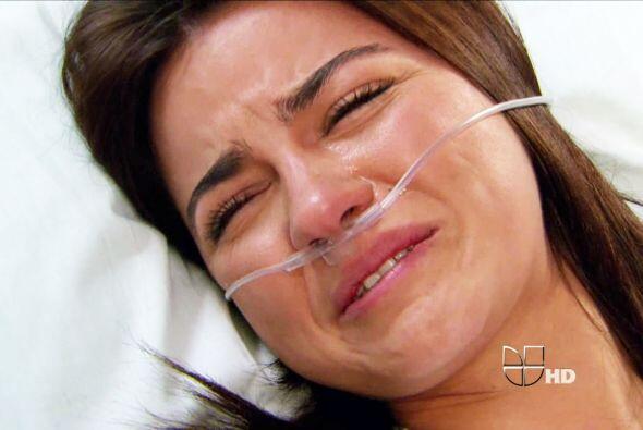 Maite Perroni también tiene gran experiencia en llorar.
