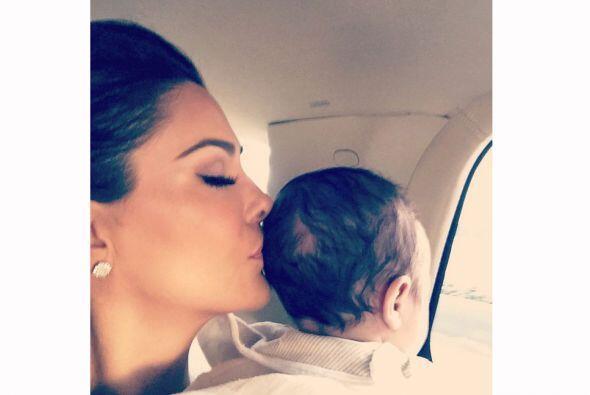 Ninel Conde cada día se enamora más de su hermoso bebé, Emmanuel.