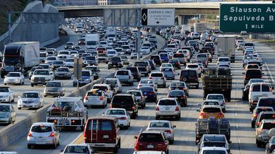 El tráfico de Los Ángeles le llega a costar a la ciudad unos cientos de...