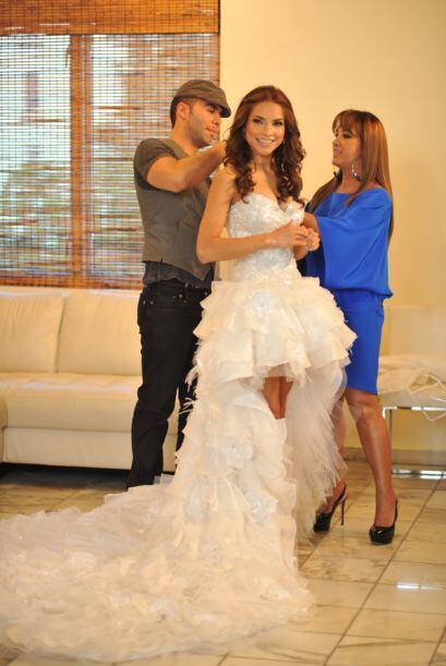 """""""Siempre que pienso en un vestido de novia pienso en el vestido con..."""