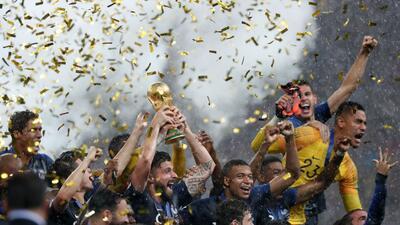 En fotos: Los ganadores en el Mundial de Rusia 2018
