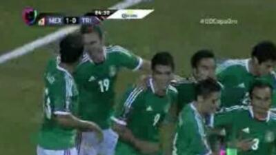 México vs. Trinidad y Tobago: Raúl Jiménez anota para México
