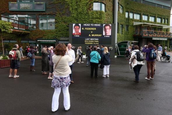 Los ingleses quieren ver a Murray coronarse en el torneo de tenis más an...